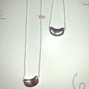 2 bean necklaces